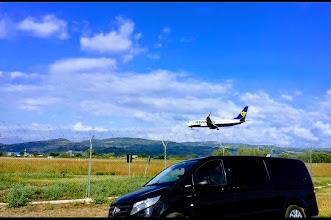 Photo: Arrivo Ryan Air Perugia