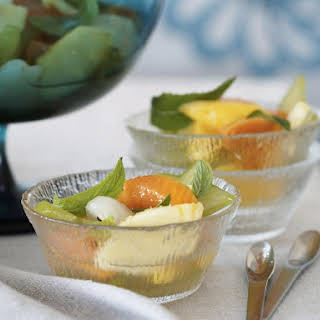 Tropical Fruit Salad with Lime.