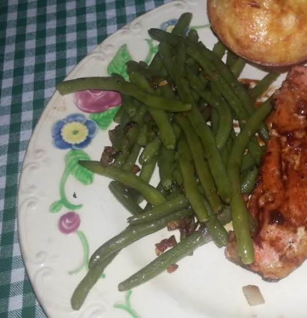 Green Beans With Shallots Recipe