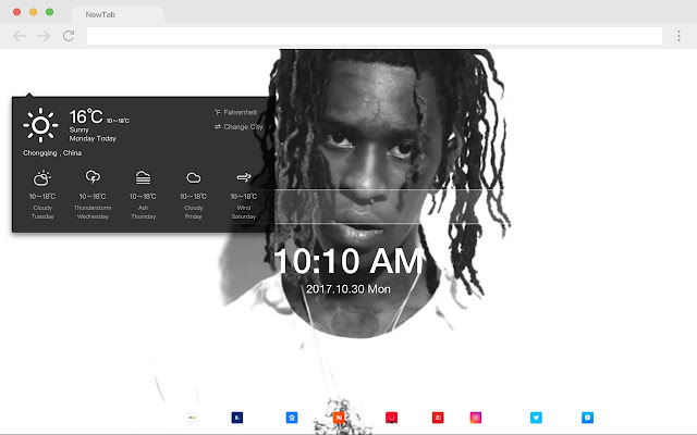 Young thug HD New Tabs Popular Stars Themes