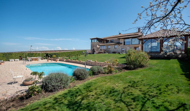 Maison avec piscine Saint-verand