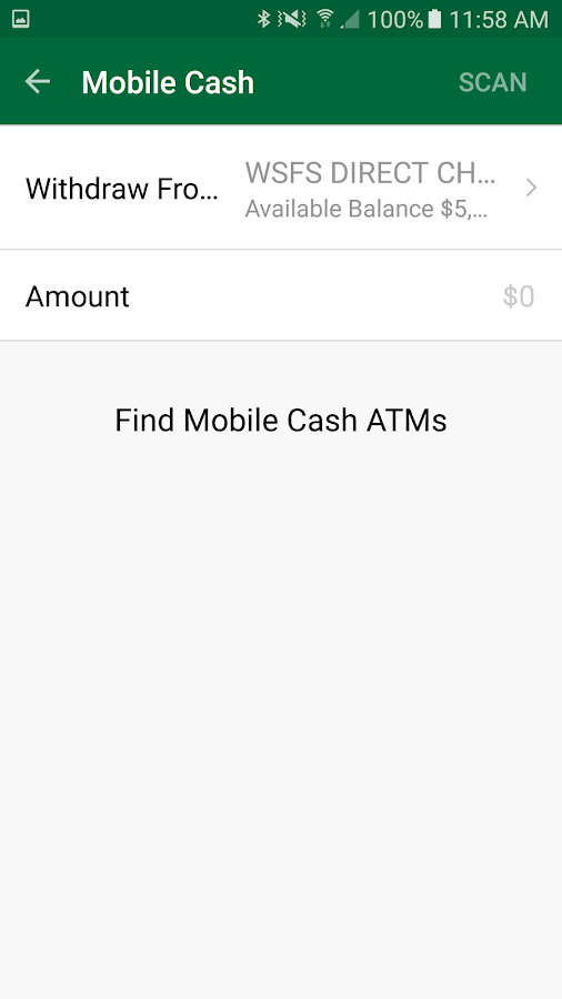 WSFS Bank Mobile- screenshot