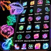 App Neon Music Fire Theme APK for Windows Phone