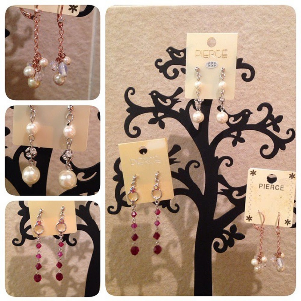 Fashion Earrings HKD 70 Or USD 10 Imported From Japan Order WA 852