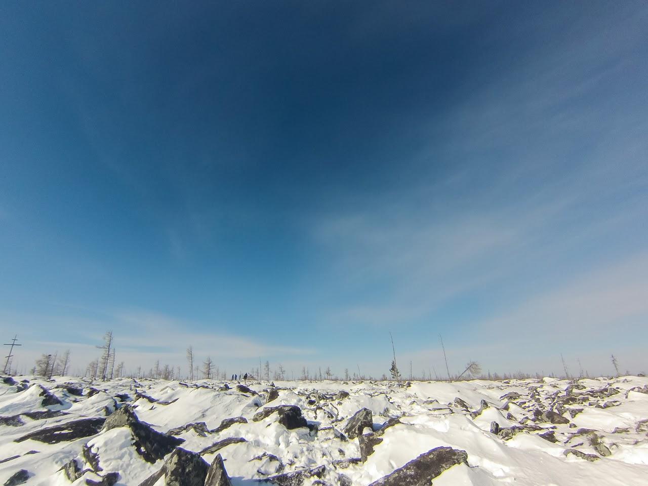 Так выглядет вершина к которой стремились участники соревнований Скоростное восхождение на голец Саранакан 2017