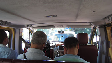 Photo: my first Dolmuş taxi ride