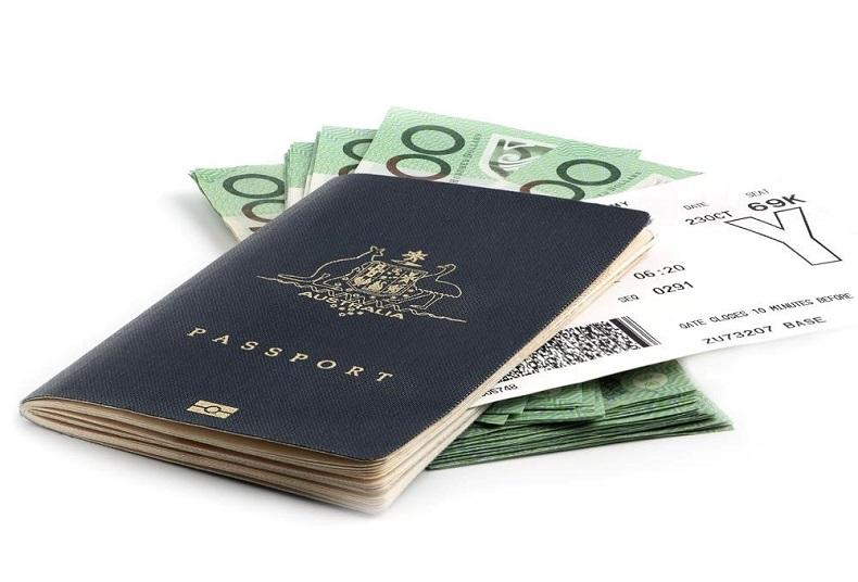Phí xin visa du lịch Úc
