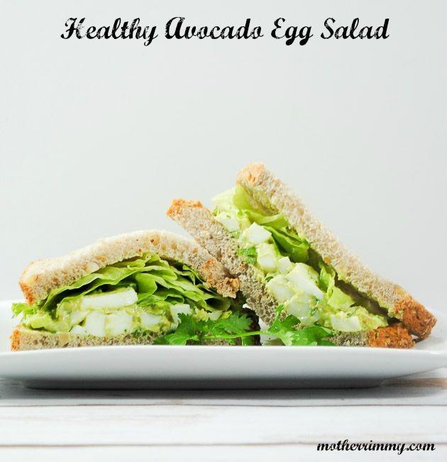 Healthy Avocado and Egg Salad