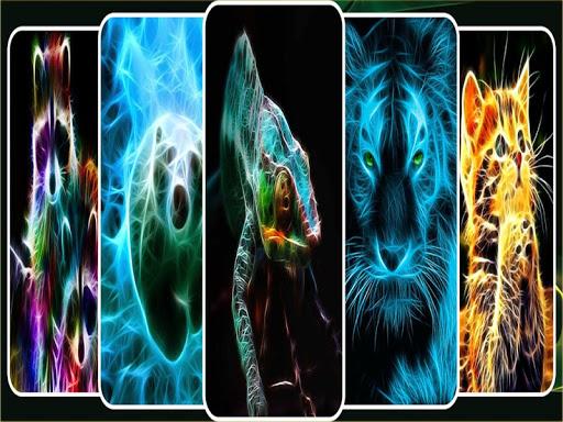Neon Animal Wallpapers 1.0 screenshots 1