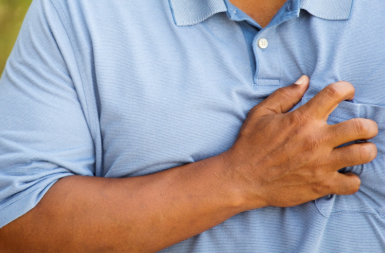 The symptoms of Broken heart syndrome mimic a heart attack — chest pains and shortness of breath.