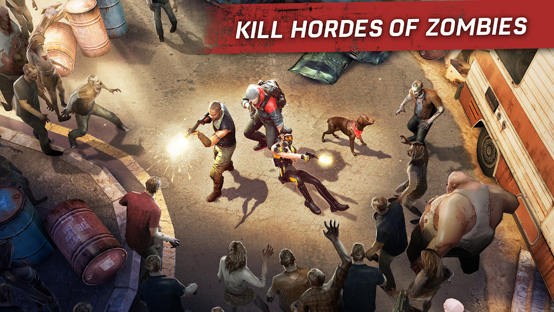 Left to Survive: Zombie Shooter Survival Android App Screenshot