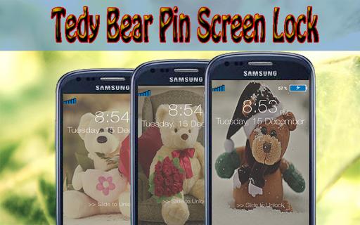 泰迪熊銷屏幕鎖定