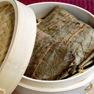 Sticky Rice in Lotus Leaf.