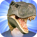 Dinosaur Head Photo Stickers icon