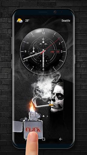 cigarette & smoke Lock Screen 9.3.0.1954_master screenshots 2