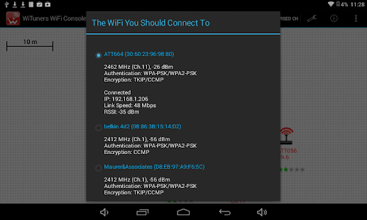 WiFi Site Survey by WiTuners- screenshot thumbnail