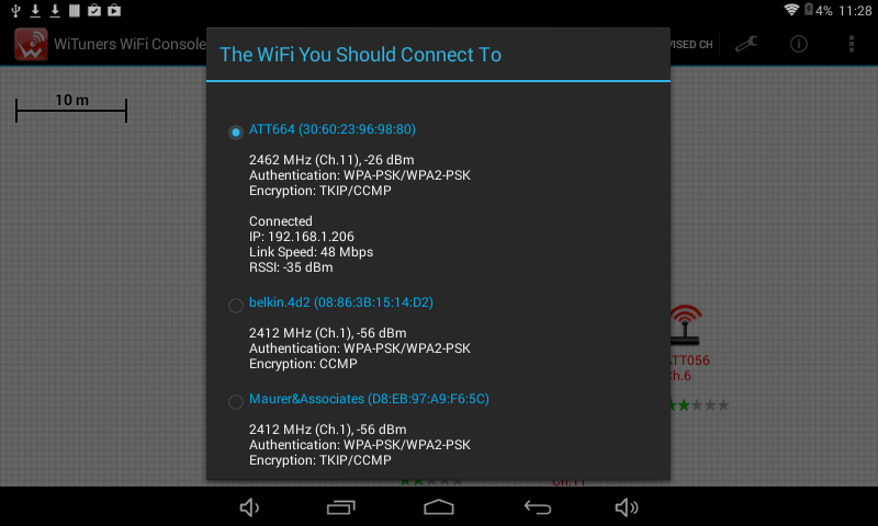 WiFi Site Survey by WiTuners- screenshot
