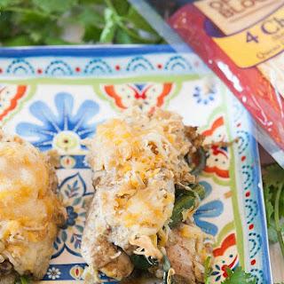 Chicken Fajita Roll Up.