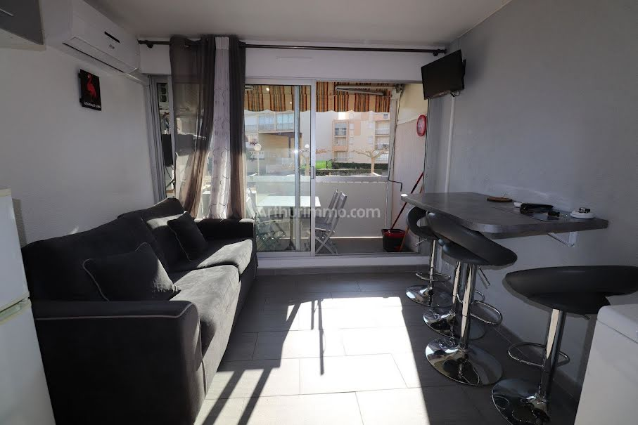 Location  studio 1 pièce 19.9 m² à Le Grau-du-Roi (30240), 459 €