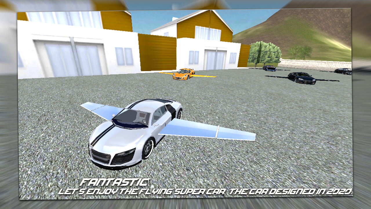 Flying Super Car 2020- screenshot