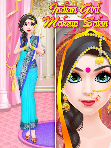 Indian Girl Makeup Salon