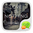 GO SMS LOVE IS NOTHING THEME icon
