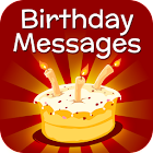 Cartes d'anniversaire Messages icon