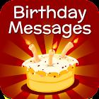 Messaggi di compleanno e auguri icon