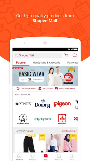Shopee: No.1 Belanja Online Apps (APK) gratis downloade til Android/PC/Windows screenshot