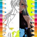 Coloring Game For Nanatsu No Taizai icon