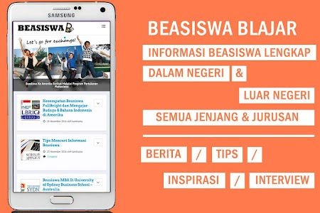 Beasiswa BLAJAR (Scholarship) screenshot 0
