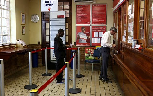 EXPANSION: People queue at the Parkview Post Office in Johannesburg. Picture: THE TIMES
