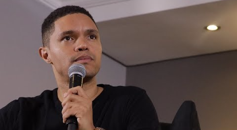 "Trevor Noah is back to tour the country with his ""There's a Gupta on My Stoep"" comedy show."
