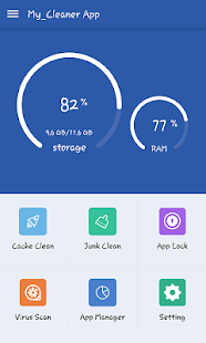 Power Speed Booster & Cleaner - Applock, Antivirus Screenshot