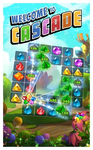 Cascade: Spin & Match Gem Puzzle App screenshot 5