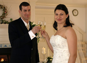 "Photo: ""First Toast"" - Wed at the Red Horse Inn - Landrum, SC  -1-8-10 - www.WeddingWoman.net ~"
