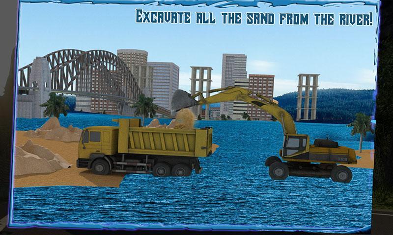 Transport-Truck-3D-River-Sand 16