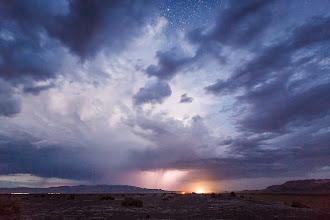 Photo: Blue Hour Lightning