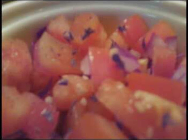 Fresh Tomato Salsa Crudo Recipe