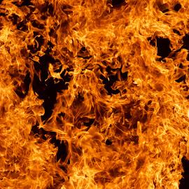 inferno by Savannah Eubanks - Abstract Fire & Fireworks ( heat, burn, night, dry, abstract, hot, orange, burning, fire, flame, desert, bonfire, inferno )