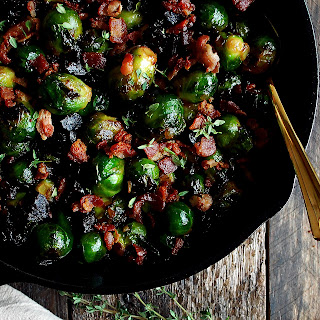The Best Caramelized Brussels Sprouts.