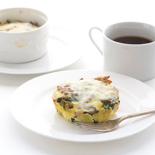 Mini Bacon & Kale Frittata for Two