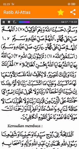 Ratib Al-Attas Lengkap - Terjemah & MP3 screenshot 8