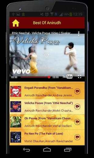 Best Of Anirudh Songs  screenshots 8