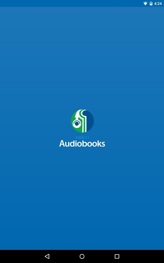 EBSCO Audiobooks- screenshot
