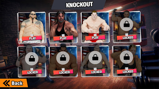 GYM Fighting Games: Bodybuilder Trainer Fight PRO apkmr screenshots 4