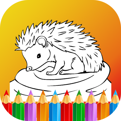 Baby Animals Coloring Pages Game For Kids Google Play De