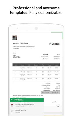 FREE! Invoice,Estimate Billing - screenshot