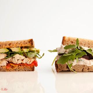 White Bean & Roasted Beet Sandwich