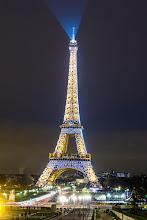 Photo: Eiffel Tower by Night, Paris, France